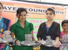 Clay Ganesh Workshop, Maitrayee Foundation