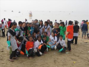 Beach Cleaning Akanksha NGO